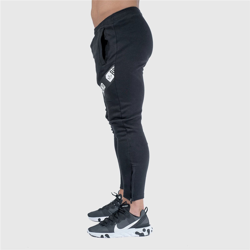 Pants Men Pantalon Homme Streetwear Jogger Fitness Bodybuilding Pants Pantalones Hombre Sweatpants Trousers Men SH 17