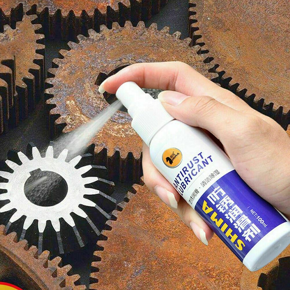 100ml Lubrication Tool Moisturizing Inhibitor Maintenance Multifunction Car Spray Derusting Universal Easy Apply Rust Remover|Rust Remover| |  - title=