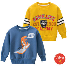 Autumn Spring 2020 Sweatshirt Boys Kids Child Girls Dinosaur T Shirts Long Sleeve Car Printed Baby Toddlers Clothes Tops girls plaid blouse 2019 spring autumn turn down collar teenager shirts cotton shirts casual clothes child kids long sleeve 4 13t