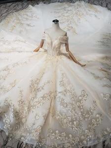 Image 4 - BGW robe de mariée luxueuse tenue de bal, avec Train Royal, faite à la main, bonne qualité, Style moyen orient, à la mode, 2020