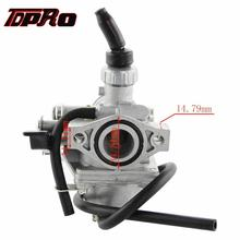 TDPRO VM16 19MM Racing Carburetor For Honda CRF50 Motorcycle 50cc to 125c Scooter Pocket Pit Dirt Bike ATV Go kart Buggy Quad