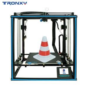 2020 Tronxy X5SA-2E 24V 3D Printer Dual Titan Extruders Filament Sensor Auto leveling Ultra-quiet Driver Dual colors Printing(China)