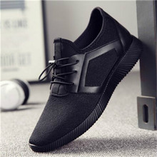 Men shoes Korean version of lightweight fashion running casual sports breathable mesh wild