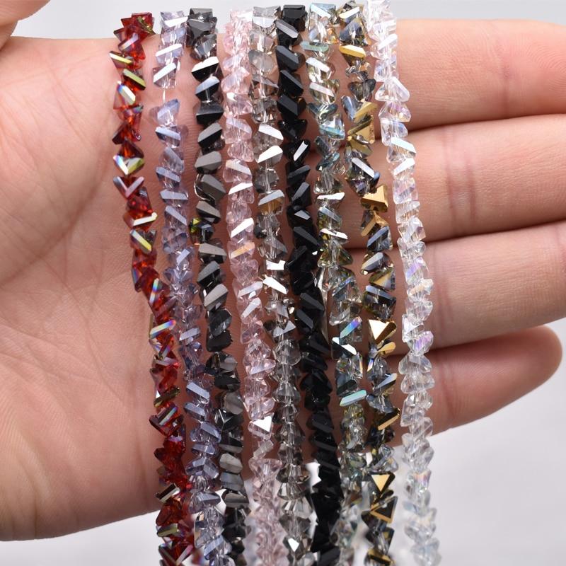 Сверкающие красные, фиолетовые, белые цвета 2*2 мм 195 шт Австрийские граненые стеклянные бусины Rondelle для изготовления ювелирных изделий