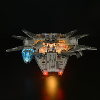 Kit de luz led (versão clássica) para lego 75105 star wars a força desperta millennium falcon blocos (apenas luz incluída) Iluminação Novelty    -
