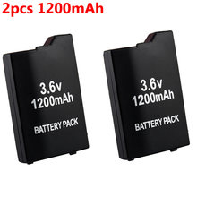 2 шт 1200 мАч 36 В аккумулятор для консоли sony psp 2000/3000