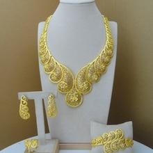 Yuminglai Dubai Kostuum Sieraden Afrikaanse Grote Sieraden Sets FHK8478