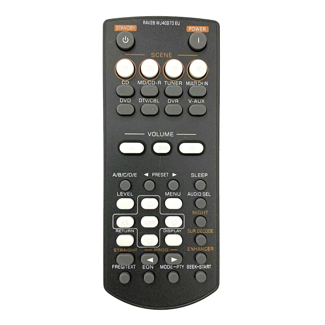 New Remote Control RAV28 WJ40970 EU For YAMAHA Home Amplifier AV Receiver HTR 6030 RX V361 Fit For RAV34 RAV250 RX V365 HTIB 680