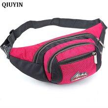 Women Waist Bag Belt Pack PVC Chest Vintage Shoulder Small Money Purse Holographic Nylon Bum Funny