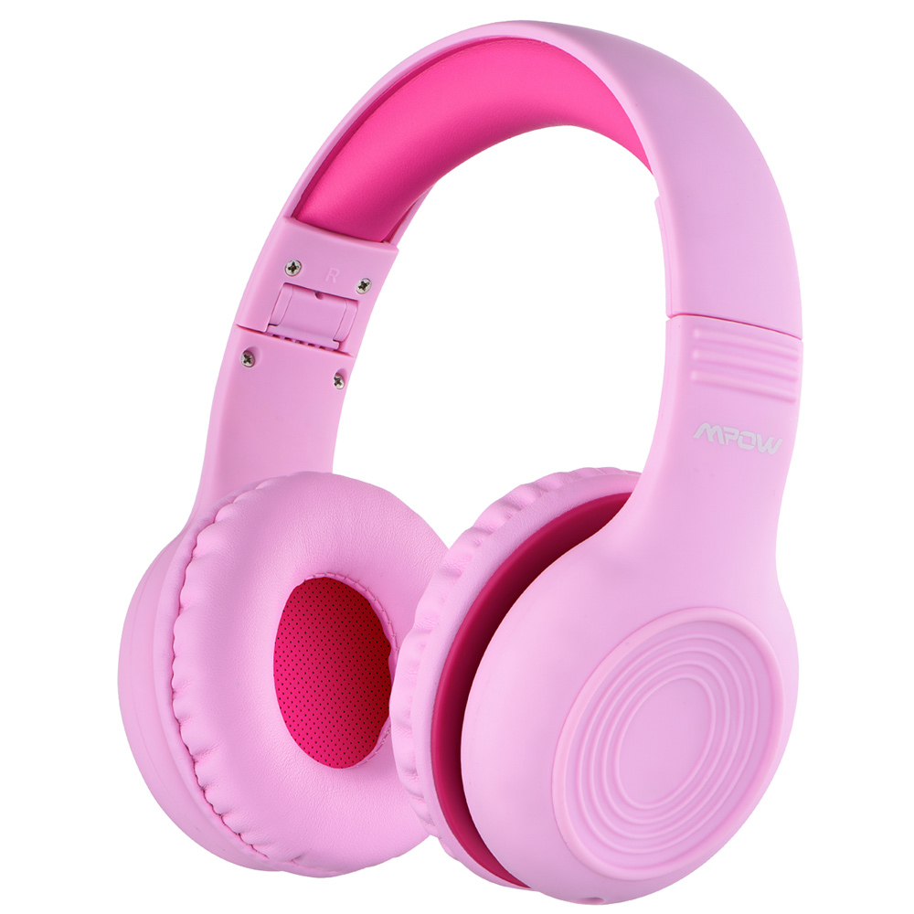 Mpow-CH6-Kids-Headphones-85dB-Hearing-Protection-Over-Ear-Kids-Headset-Foldable-Adjustable-Wired-Headphone-with-Mic-2