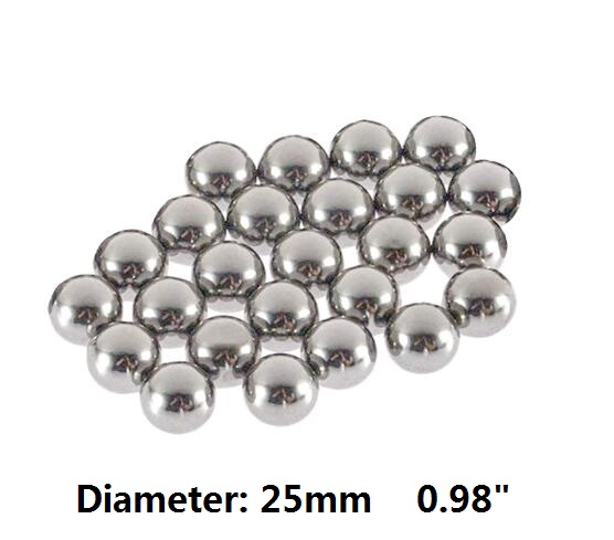 25mm Stainless Steel Hollow Ball For Homes Decoration Ornament Mirror Polished Shiny Metal Balls Sphere 10/30/50pcs You Pick