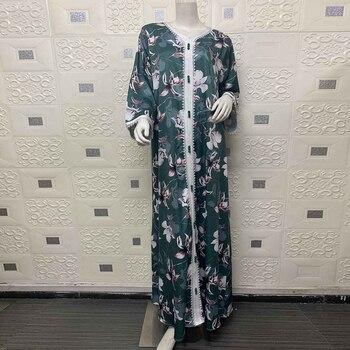 Abayas For Women Muslim Fashion Hijab Dress Robe Longue Musulman De Mode Satin Kaftan Dubai