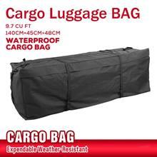 140x45x48cm Waterproof Car Roof Top Bag Roof Top Bag Rack Cargo Carrier Luggage Storage Travel Waterproof SUV Van for Cars