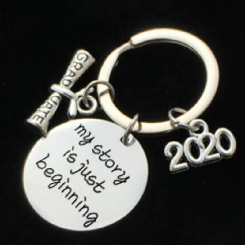 Graduation Gift Keychain Class Of 2020 Graduation Gift Stainless Steel Key Ring High School Graduation College Graduation