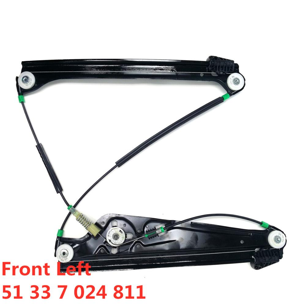 For BMW E65 E66 E67 745 750 760 I Li  For Alpina B7 Front Left Window Regulator 51 33 7 024 811  51337024811