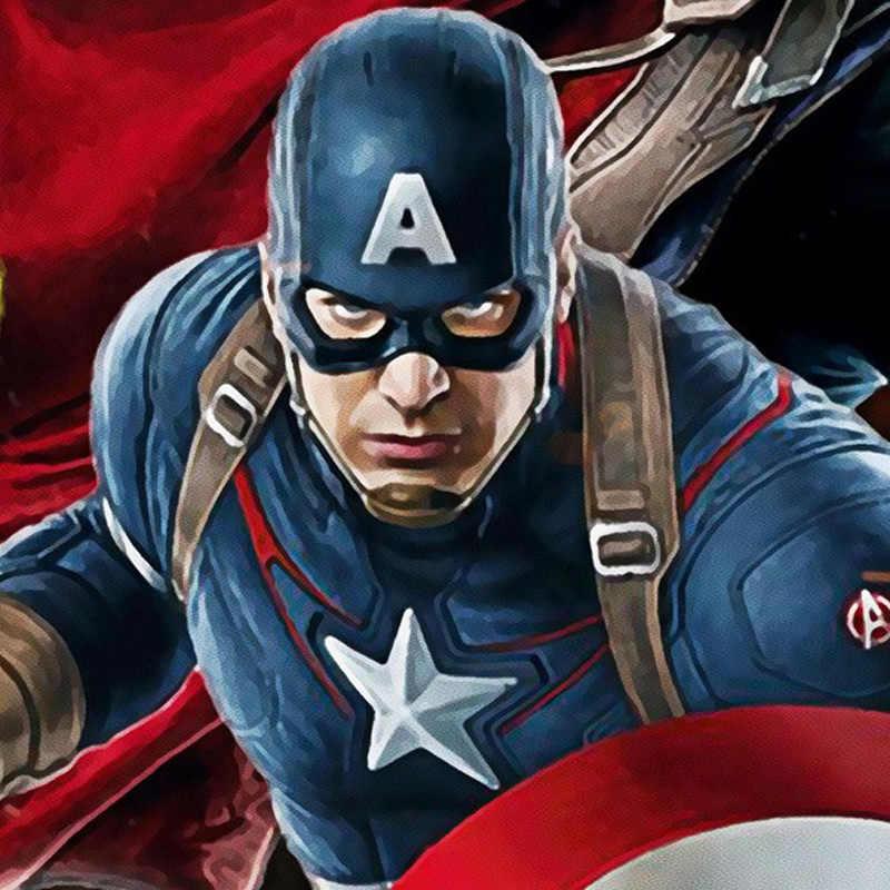 Fugenlose Avengers Foto tapete Nach 3D tapete für wände Kapitän Amerika wandbild Junge wohnzimmer TV Hintergrund