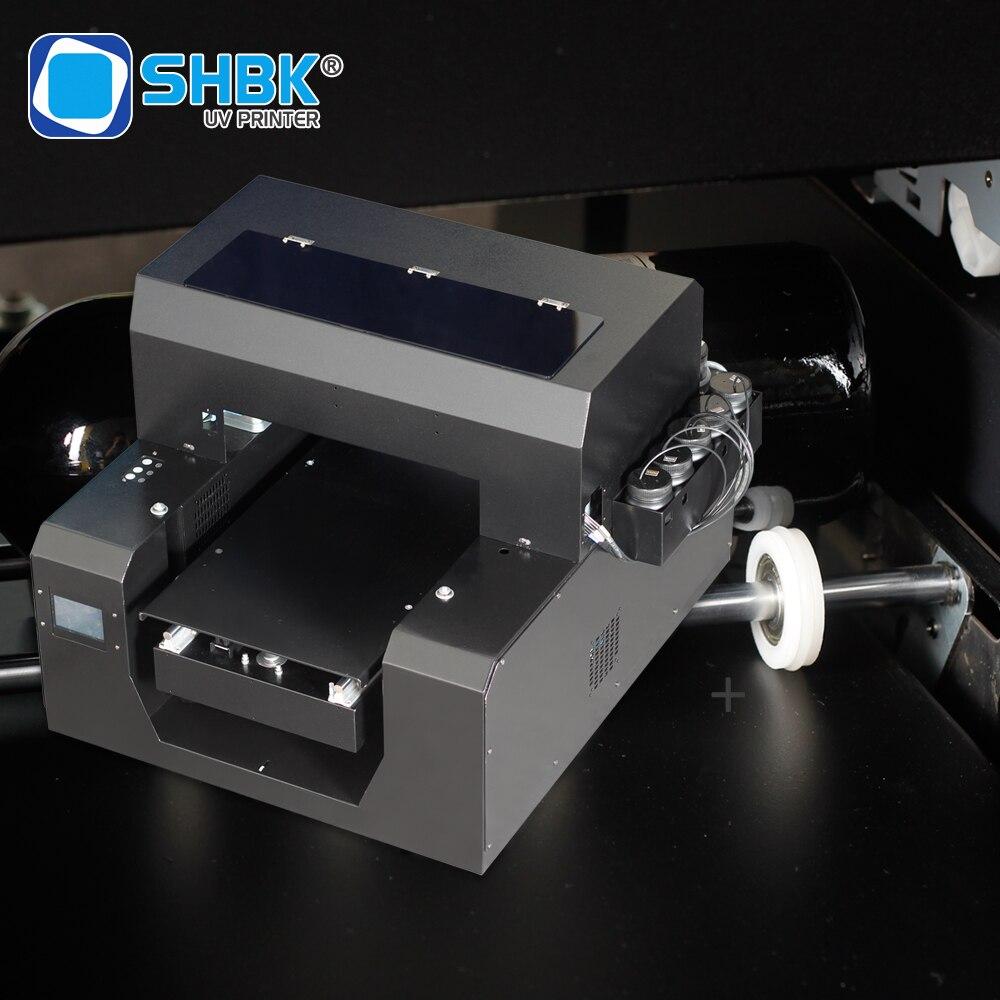 Shbk a3 impressora uv & epson dx4 cabeça impressa para a rotação cilíndrica 3d gravado caso do telefone da cópia, madeira, fábrica da cópia do t-camisa