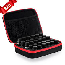 30 Bottles Essential Oil Case 5ML10ML 15ML Perfume Oil Essential Oil Box Travel Portable Carrying Holder Nail Polish Storage Bag(China)