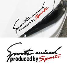 Pegatinas de letras deportivas para coche, emblema, insignia, pegatina del gorro del automóvil, estilo de coche para Audi, BMW, Benz, VW Sport AMG