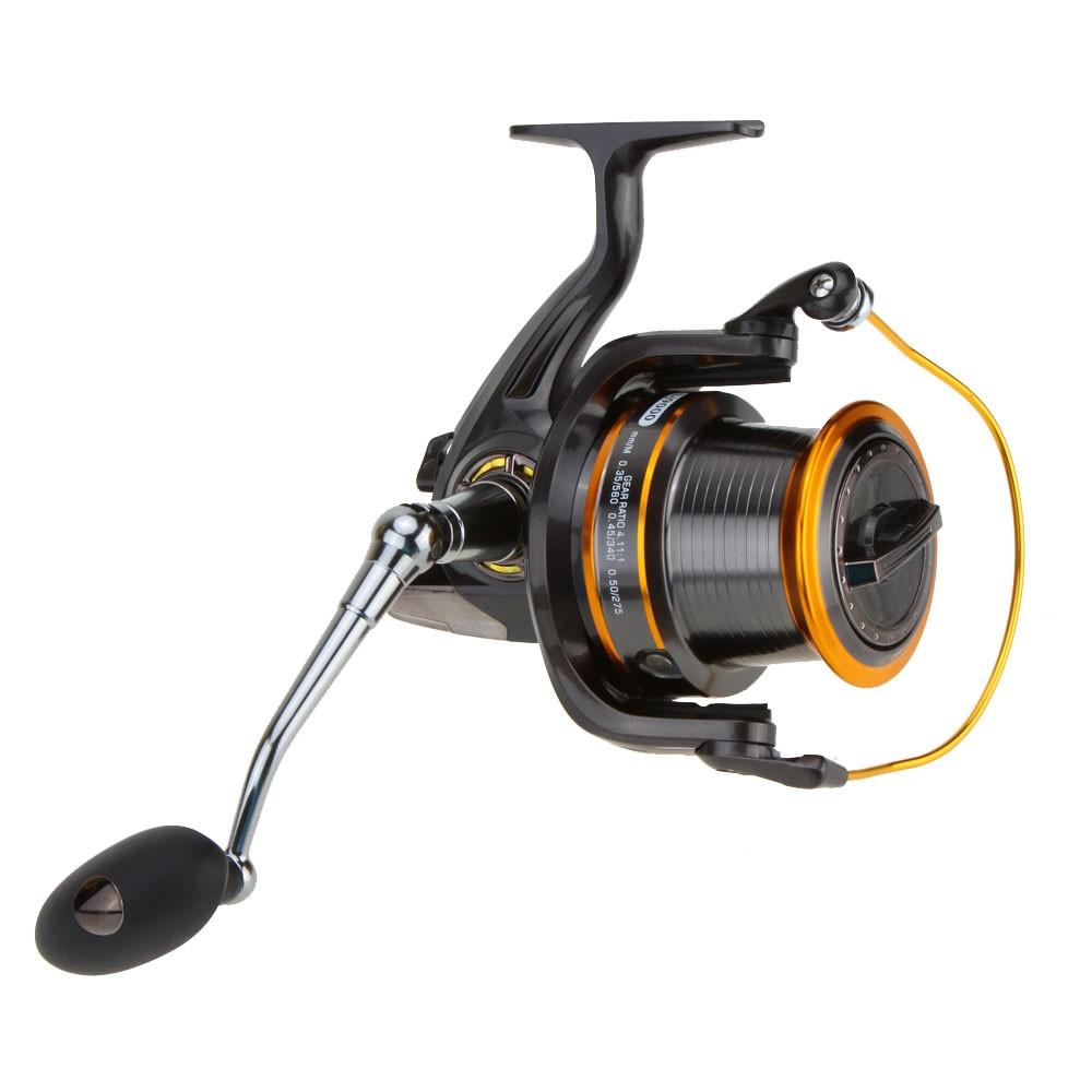 12+1BB 13Ball Bearings Left/Right Interchangeable LJ9000 Super Big Sea Fishing Wheel Metal Spinning Reel High Speed 4.11:1 image