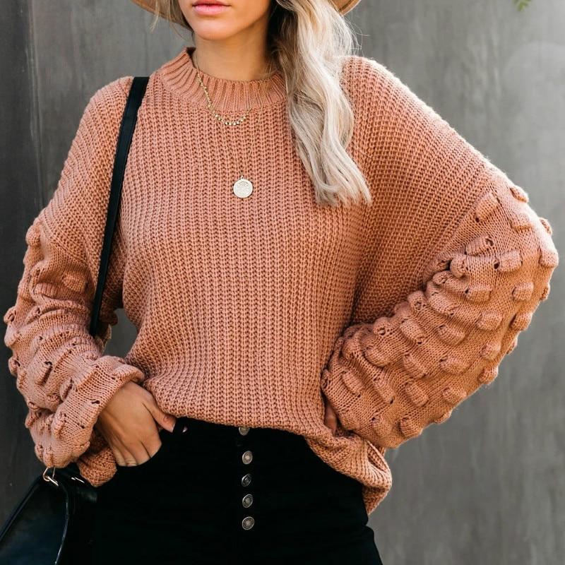 2021 Winter O-neck Women's Sweater 2