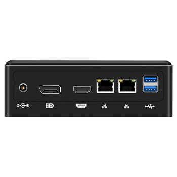 Mini PC Intel Core i5 8250U i7 8550U i3 7020U Windows 10 Linux DDR4 M.2 SSD 8*USB HDMI DP Type-C WiFi Bluetooth 4K HTPC Computer