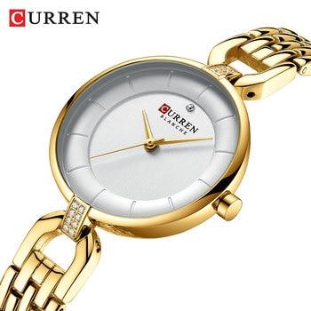 CURREN 9052 Women's Luxury Brand Watch Trend Quartz Women's Waterproof Watch