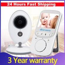 Радионяня беспроводной видео няня младенца камеры интерком ночного видения Мониторинг Cam няня няня ребенка телефон vb605 температуры