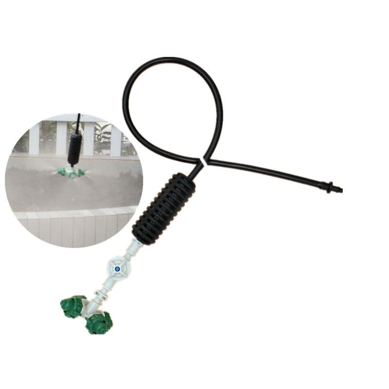 10pcs Fogger Cross Misting Hanging Assembly Sprinkler Cooling Hanging Sprinkler For Garden Greenhouse Irrigation M418