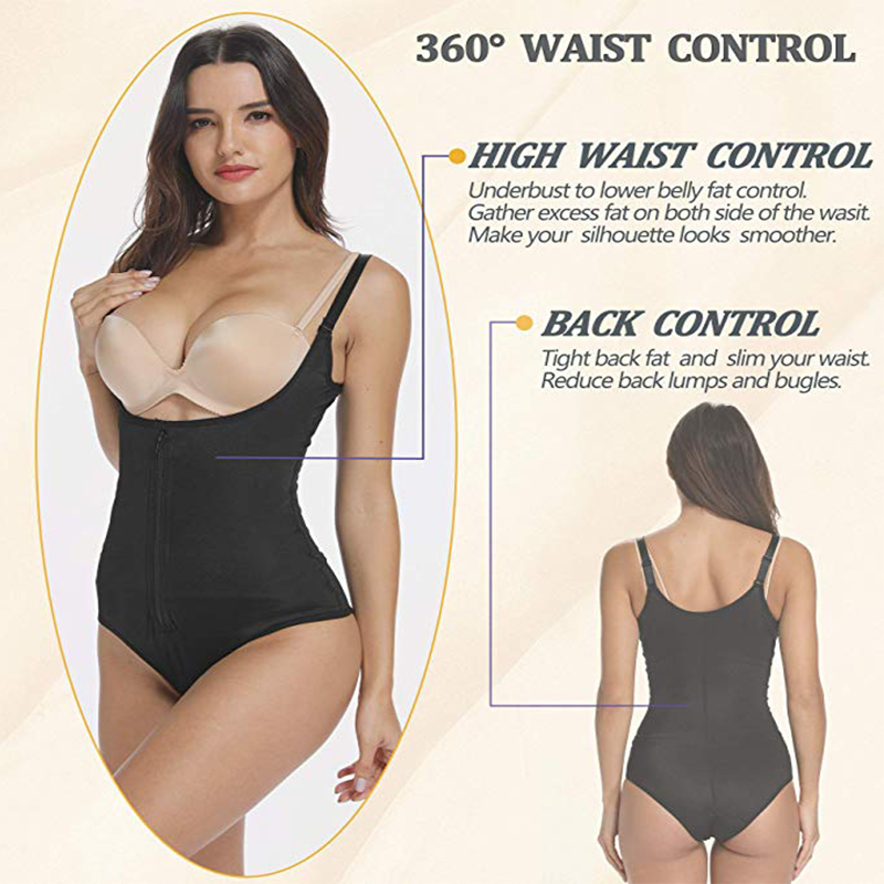 Fajas Reductoras Colombianas Latex Body Shaper Levanta Cola Post Parto Surgery Girdle Slimming Corset UnderBust Waist Trainer US