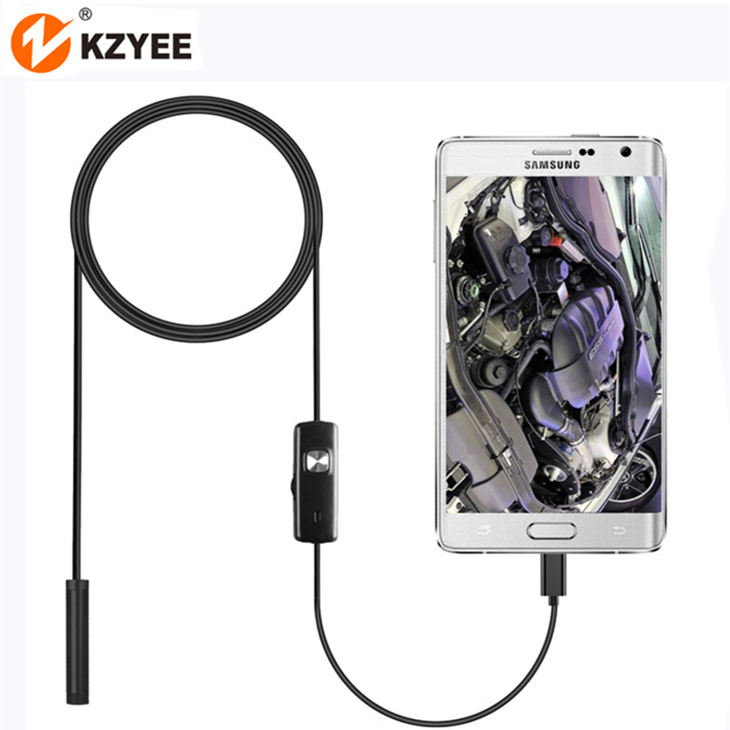 Micro USB OTG Endoscope Camera 7mm IP67 Waterproof Micro USB Inspection Borescope Camera with 6LEDs for Samsung Huawei Xiaom PC