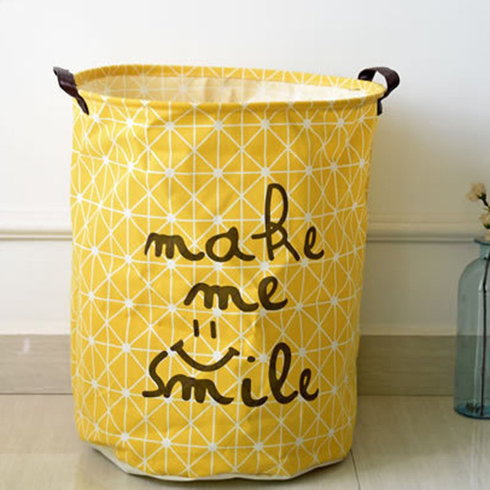 Household finishing Storage bucket yellow daily life supplies health and beauty personal care products