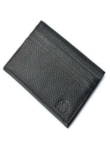 Black Color PU Leather ID Card Holder Thin Light Bank Credit Card Wallet Multi Slot Slim Card Case @12