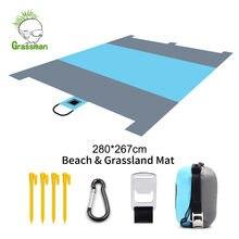 140*200 см Карманный водонепроницаемый Пляжный коврик для пикника