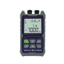 Mini medidor de potencia óptico multifunción 4 en 1 Localizador Visual de fallos, Cable de prueba de red LED AP/CP 1MW/15MW/ 30MW