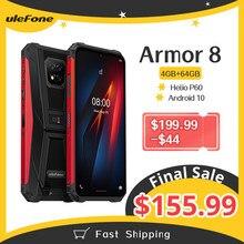 Ulefone Armor 8 sağlam cep telefonu Android 10 4GB + 64GB cep telefonu octa-çekirdek 2.4G/5G WiFi 6.1 inç su geçirmez Smartphone