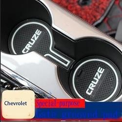 Dla (lewy ster) Chevrolet 17-19 nowy Cruze specjalna mata drzwiowa zamontuj wnętrze schowek mata mata na kubki wodne