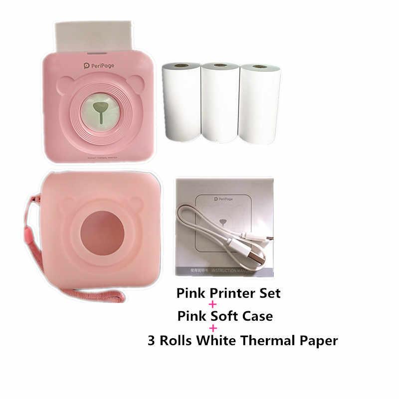 Портативный мини-принтер GOOJPRT для фотосъемки, термопринтер с этикеткой и Bluetooth, Мягкий защитный чехол, бесплатное приложение, стикер, принтер для веб-банкнот