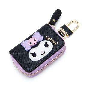 Новый мультфильм милый PU Брелок Hello Kitty KT кошка цепочка для ключей бумажник мужчин и женщин Шарм подвесные аксессуары для сумок брелок
