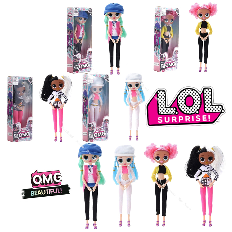 LOL OMG Original L.O.L Surprise Doll Toys Winter Disco Dollie Fashion LOL Doll & Sister Girls Top Secret OMG Christmas Toys