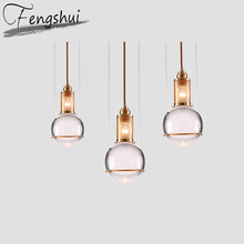 Nordic Crystal Pendant Lights Lamp Home Deco Pendant Lighting Living Room Dining Room Bedroom Loft Hanging Lamp Light Fixtures free shipping dining room pendant light lamp bedroom lamp entrance lights aisle lights crystal lamp 9940