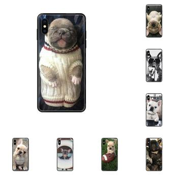 French Bulldog Cute For Galaxy S5 S6 S7 S8 S9 S10 S10e S20 edge Lite Plus Ultra Soft Cell Case image