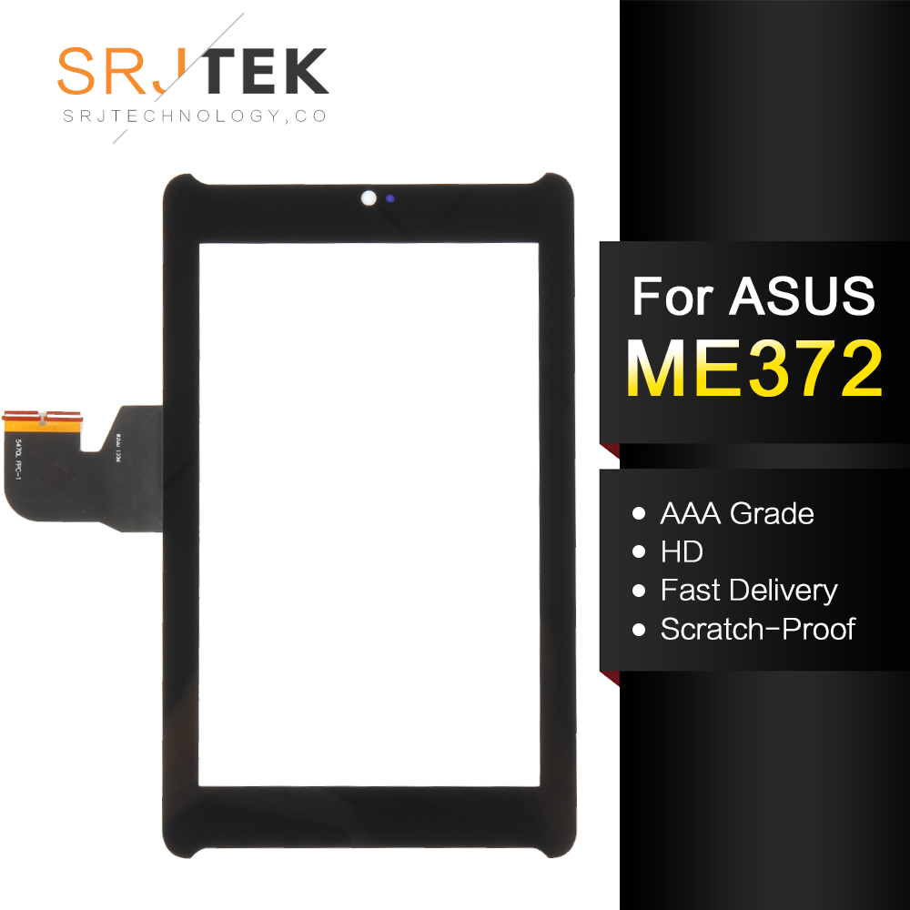 Glass Sensor For <font><b>Asus</b></font> Fonepad 7 Me372cg Me372 <font><b>K00e</b></font> Touch <font><b>screen</b></font> Panel Tablet Touchscreen Digitizer Replacement Parts 5470L FPC-1 image
