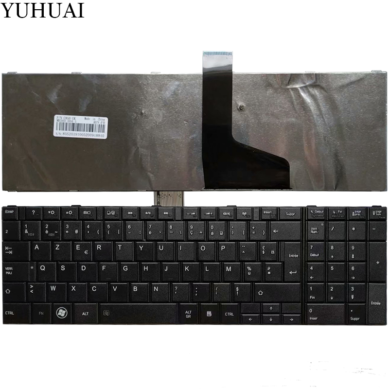 New Laptop For TOSHIBA SATELLITE C850 C850D C855 C855D L850 L850D L855 L855D L870 L870D French FR  Keyboard MP-11B96F0-528W