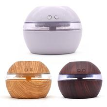 300ML USB 7-Color Blue Light Visual Tank Humidifier Aromatherapy Humidification LED Lights Support Wholesale