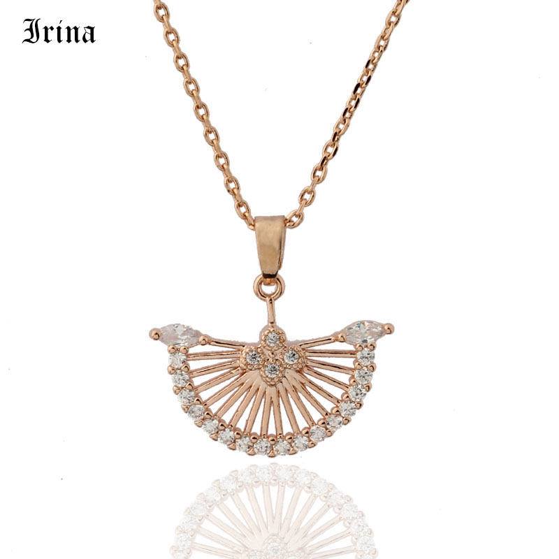 2019 Hot Sell Top Class Fashion Personality Sector Design Pendants Cubic Zirconia Copper Jewelry New Girls Women Jewelry Pendants Aliexpress