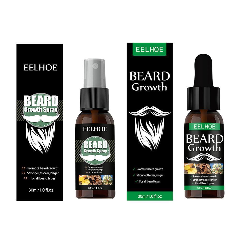 40ml Beard Growth Oil Natural Accelerate Hair Grow Beard Essential Oil Nourishing Enhancer Hair And Beard