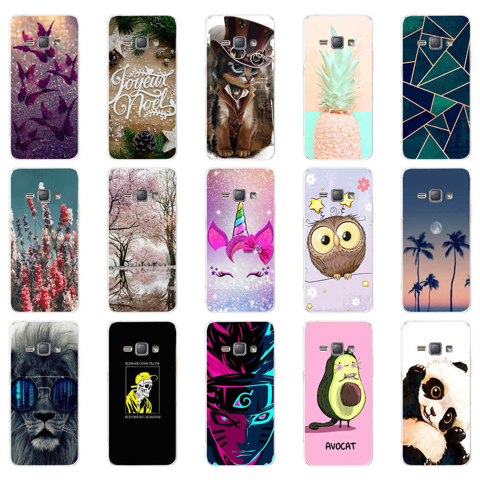 For Coque Samsung Galaxy J1 2016 Case Soft TPU Silicone Case For ...