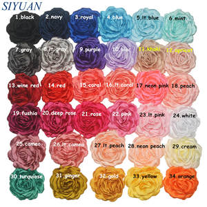 300pcs/lot Wholesale Handmade Satin Material Flower DIY Hair Accessories TH240