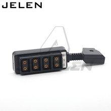 Ultrakorte Dtap Om 4 D Tap Camera Power Dtap Fourway Splitter